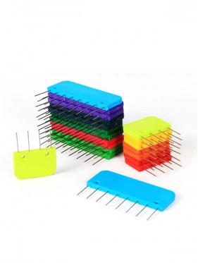 Knit Pro - Bloqueadores con pines incluidos Rainbow