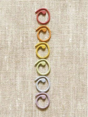 Coco Knits  - Colored split ring markers