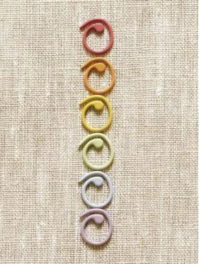 Coco Knits - Marcapuntos abiertos de colores