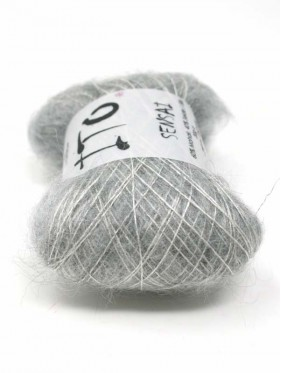 Ito Sensai - Top Light Gray 345