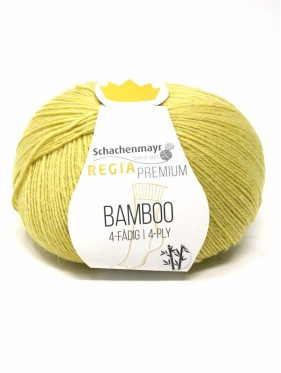 Regia - Bamboo Premium 4 Ply Yellow Green 00020