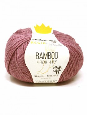 Regia - Bamboo Premium 4 Ply Brown Red 00083