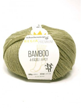 Regia - Bamboo Premium 4 Ply Grass Green 00070