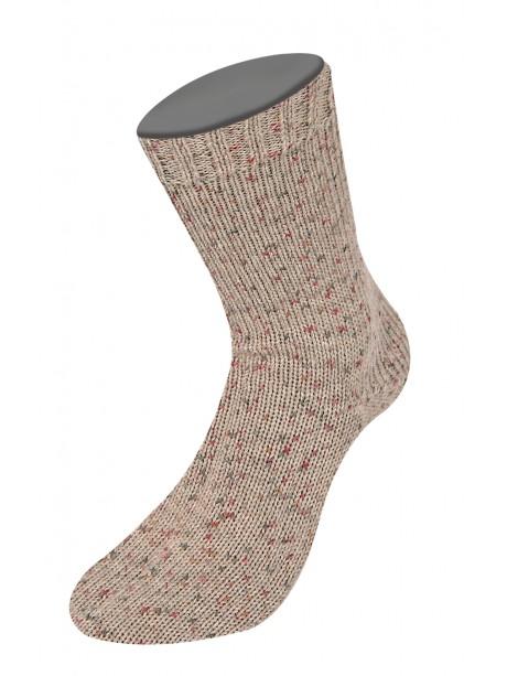 Lana Grossa Rústico Sock Yarn - Light Brown 3804