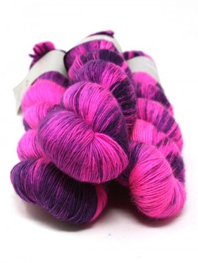 Qing Fibre Merino Single - Foxglove