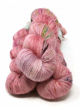 Qing Fibre Merino Single - Antique rose
