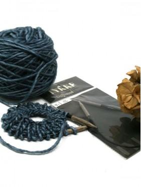 Lykke - Agujas circulares de madera fijas para tejer mangas y gorros