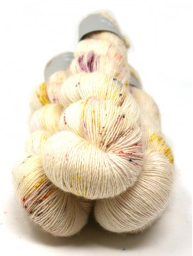 Qing Fibre Merino Single - Sunflower maze