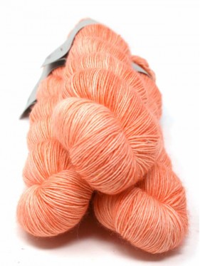 Qing Fibre Merino Single - Peachy