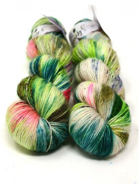 Qing Fibre Merino Single - Bittermelon