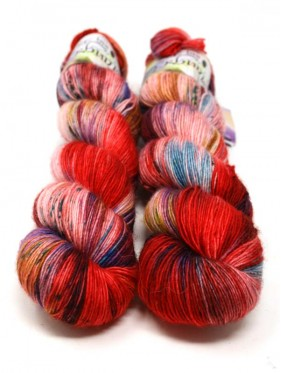 Qing Fibre Merino Single - Rambutan