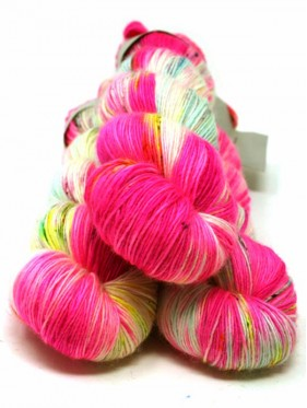 Qing Fibre Merino Single - Flamingo