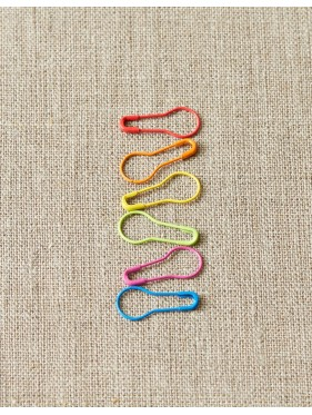 Coco Knits - Colored metal stitch markers