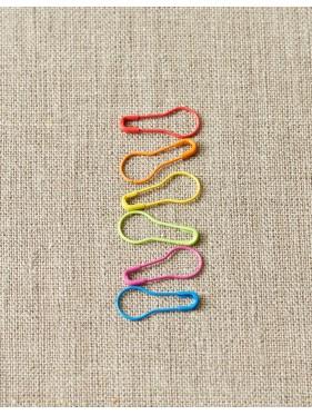 Coco Knits - Marqueurs mailles couleurs metal varièes ouvert*