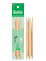 Chiaogoo - Double point needles 15 cms DPN bamboo