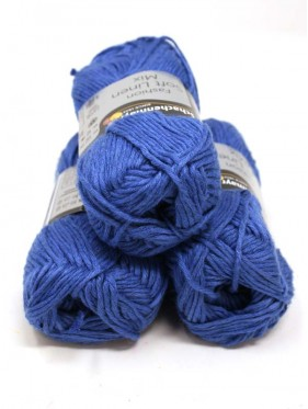 Soft Linen Mix - 54 Royal