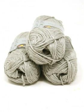Soft Linen Mix - Silver 90
