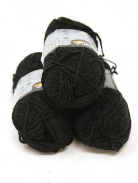 Soft Linen Mix - Black 99