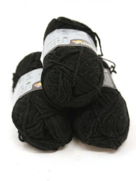 Soft Linen Mix - Black 99