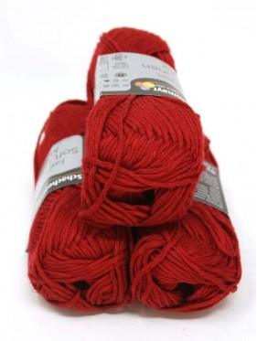 Soft Linen Mix - Red 32