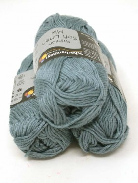 Soft Linen Mix - Ice Blue 52