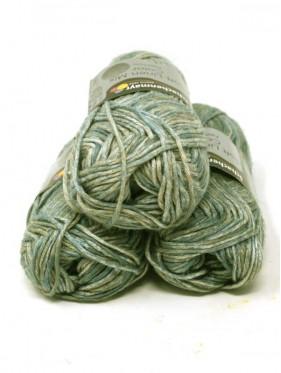 Soft Linen Mix Color - Green beige 85