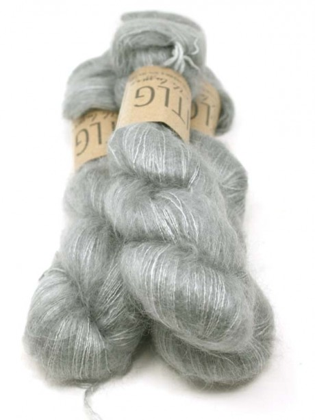 LITLG Mohair Silk Lace - Mid Western Grey