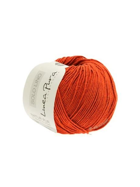 Solo Lino - Orange 025