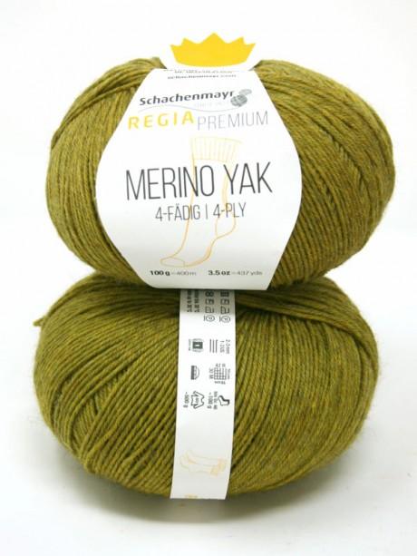 Regia - Merino Yak Premium Green 7516