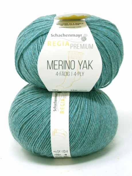 Regia - Merino Yak Premium Mineral Blue 7518
