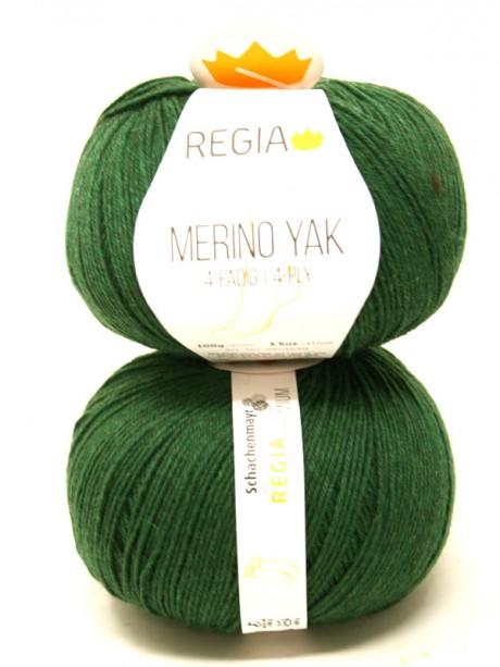 Regia - Merino Yak Premium Verde Bosque 7521