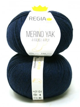 Regia - Merino Yak Premium Marine Blue 7520