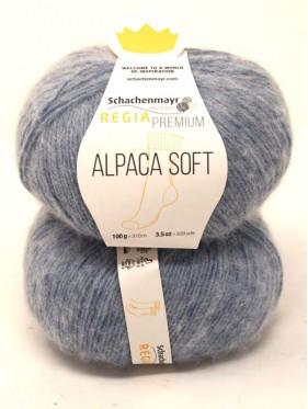 Regia - Premium Alpaca Soft 50 Mid blue