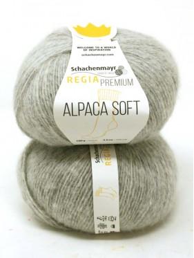 Regia - Premium Alpaca Soft 90 Grey