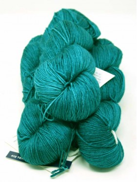 Sock - Teal Feather 412