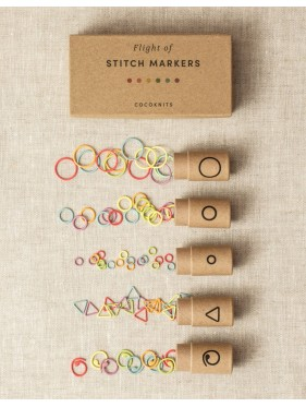 Coco Knits - Flight of Stitch Markers