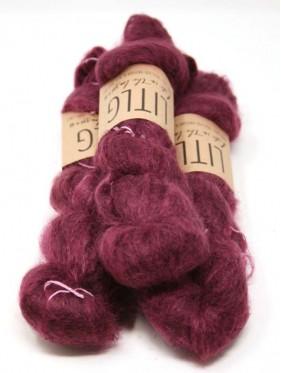 LITLG Mohair Silk Lace - Plum