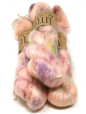 LITLG Mohair Silk Lace - Cantaloupe