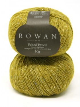 Felted Tweed DK - French mustard 216