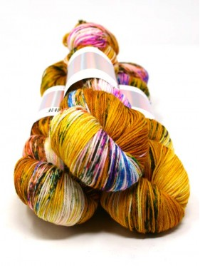 HHF Hedgehog Sock Yarn - Fools Gold