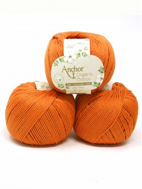 Anchor Organic Cotton - Rocky Orange 001003
