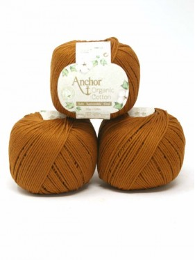 Anchor Organic Cotton - Caramel Brown 00309