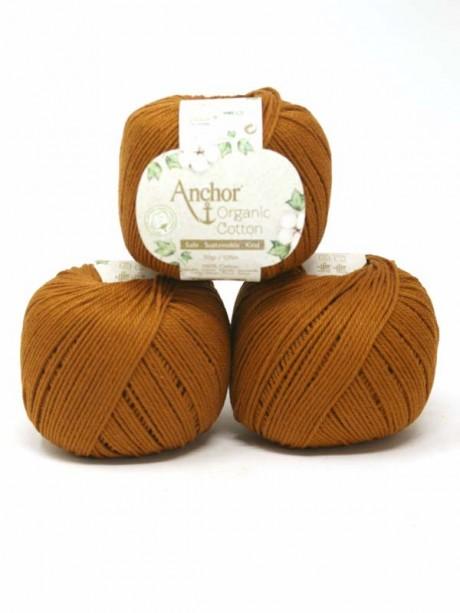 Anchor Organic Cotton - Caramel Brown 00309