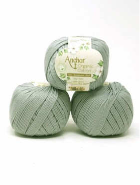 Anchor Organic Cotton - Stormy Cloud 398