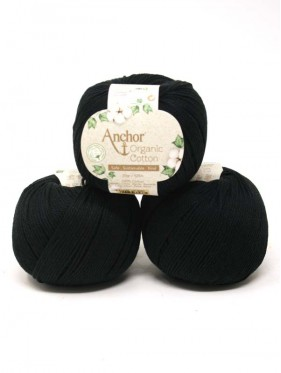 Anchor Organic Cotton - Black 1332