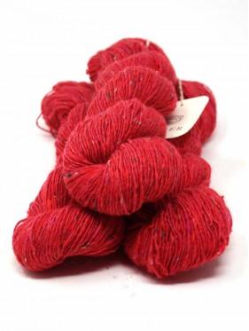 Isager Tweed - Raspberry