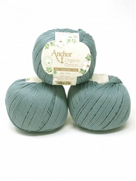 Anchor Organic Cotton - Ocean Blue 00052
