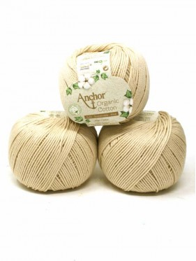 Anchor Organic Cotton - Sand Beach 387