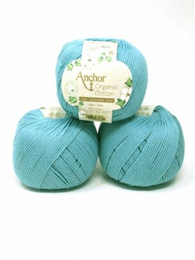 Anchor Organic Cotton - Blue Sky 01038