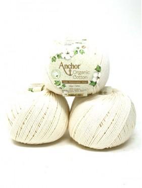 Anchor Organic Cotton - Natural 105 crema